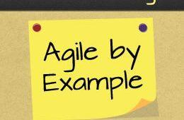 Baner wykorzystywany do promocji konferencji Agile By Example
