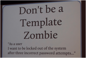 Don't be a template zombie